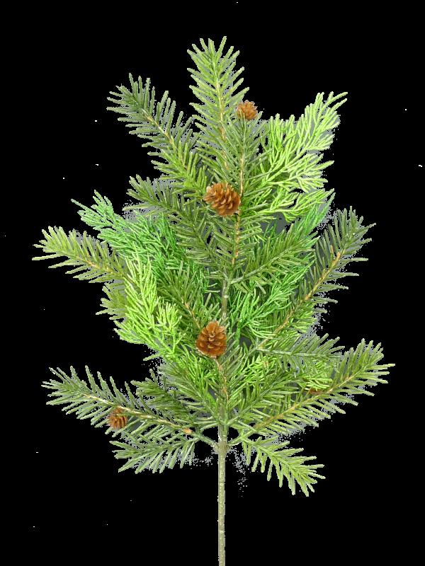 """Pine, Cedar, & Pinecone Spray - 20"""""""