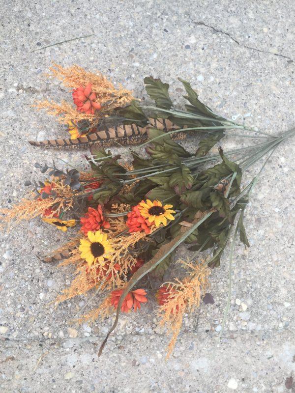 Orange-Yellow Filler Flower Bush