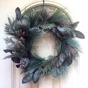 Champagne-Glitter-Wreath-Base