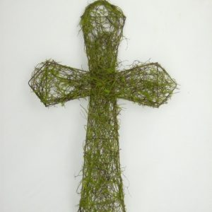 Vine & Moss Cross - 22""