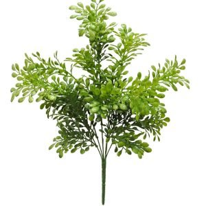 Plastic Seed Leaves Bush - 19.5""