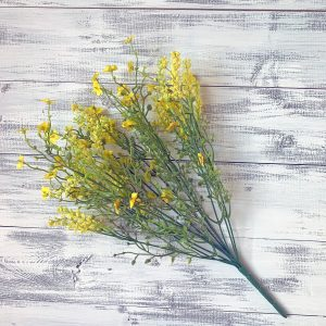 Baby's Breath Filler Bush (Yellow) - 18""