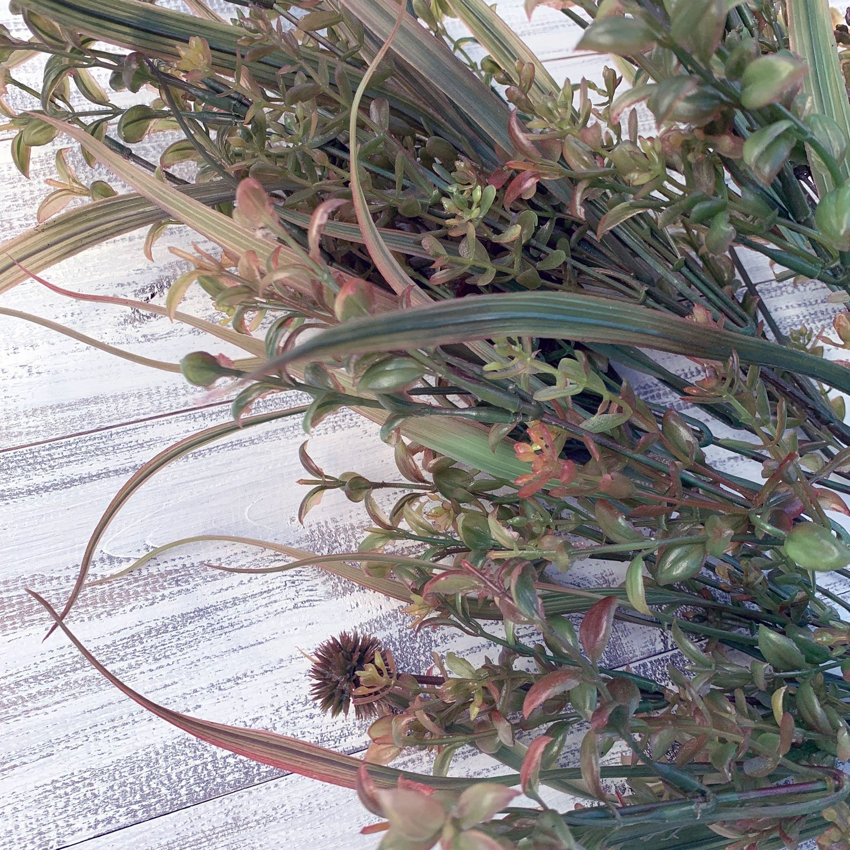 Plastic Grass Bush x 17 - 22