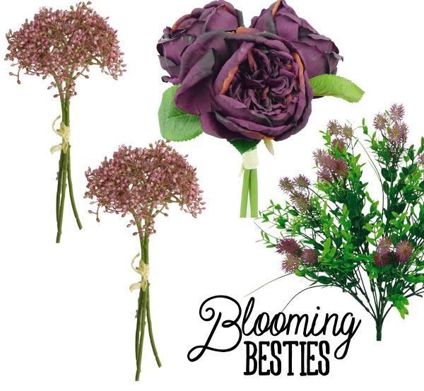 Eggplant & Mauve Floral Kit