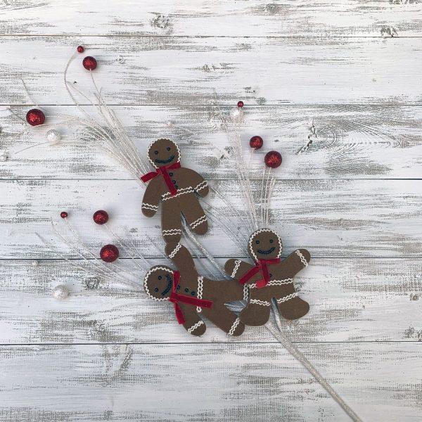 "Gingerbread Man Cookie Spray - 31"""