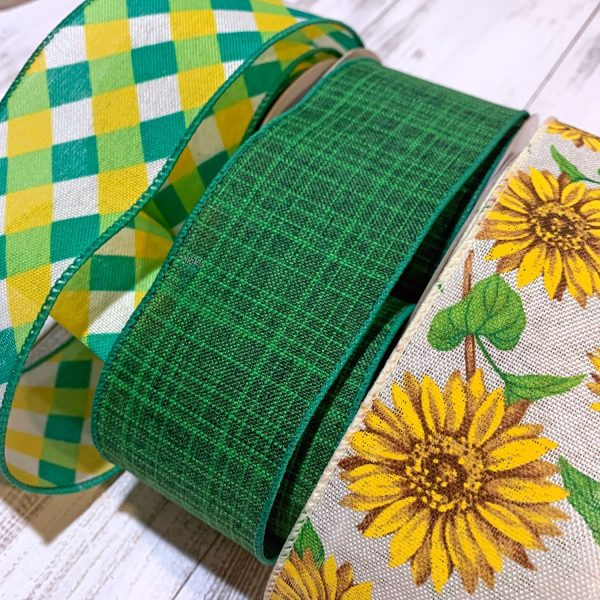 Sunflower Ribbon Grouping