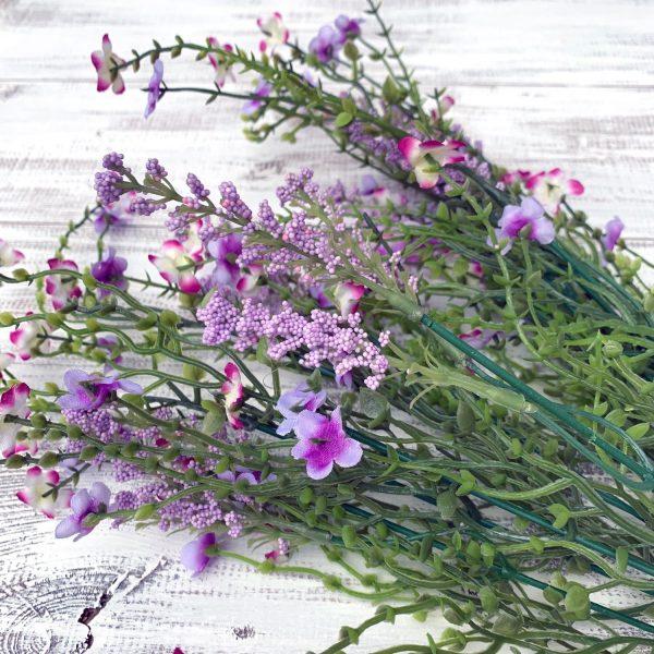 "Baby's Breath Filler Bush, Lavender - 18"""