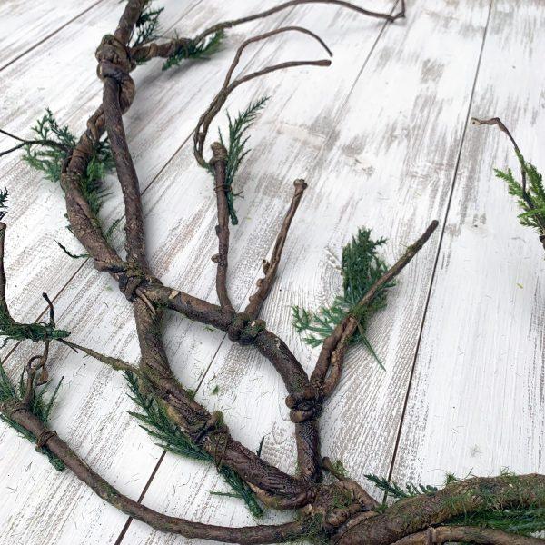 """Mossy Branch Garland - 52"""""""