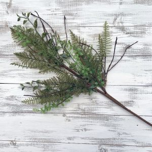 Mixed Fern, Foliage & Twig Spray - 30""
