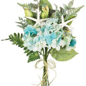 Hydrangea, Fern & Starfish Bouquet