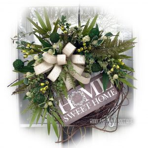 Everyday Ivory & Greenery Wreath