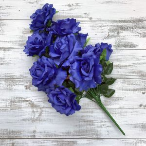 Rose Bush - Royal Blue x 12