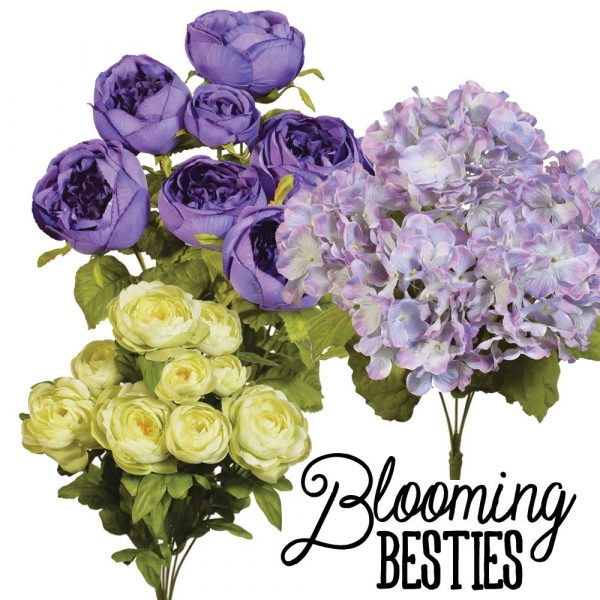 Purple & Lime Floral Kit