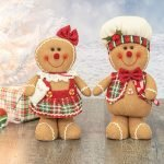 Plush Gingerbread Bakers  (Choose Girl/Boy)