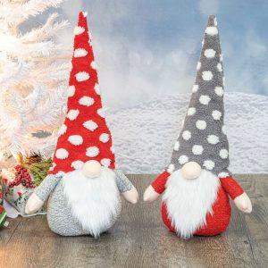 Puffy Polka Dot Gnome
