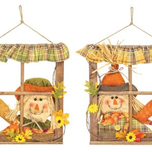 Fall Window Door Hanger (Choose Girl/Boy)