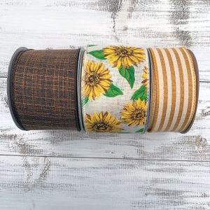 Fall Sunflower Ribbon Combo