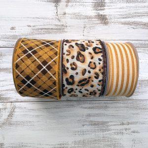 Leopard Print Ribbon Combo