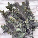 "Mixed Greens & Pine Bush x 7 - 18"""