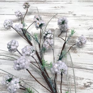 White Seed Ball Spray - 32""