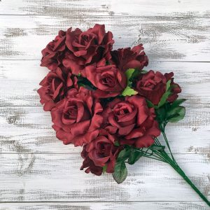 Rose Bush - Burgundy x 12
