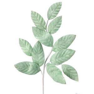 Frosted Mint Leaf Spray - 26""
