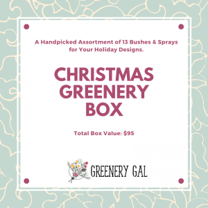 Christmas Greenery Box