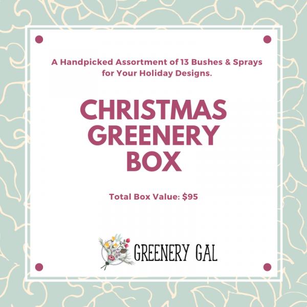 Christmas Greenery Box